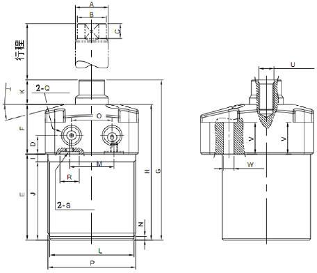 液压夹具设计图